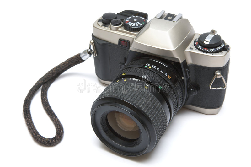 The old reflex camera royalty free stock image