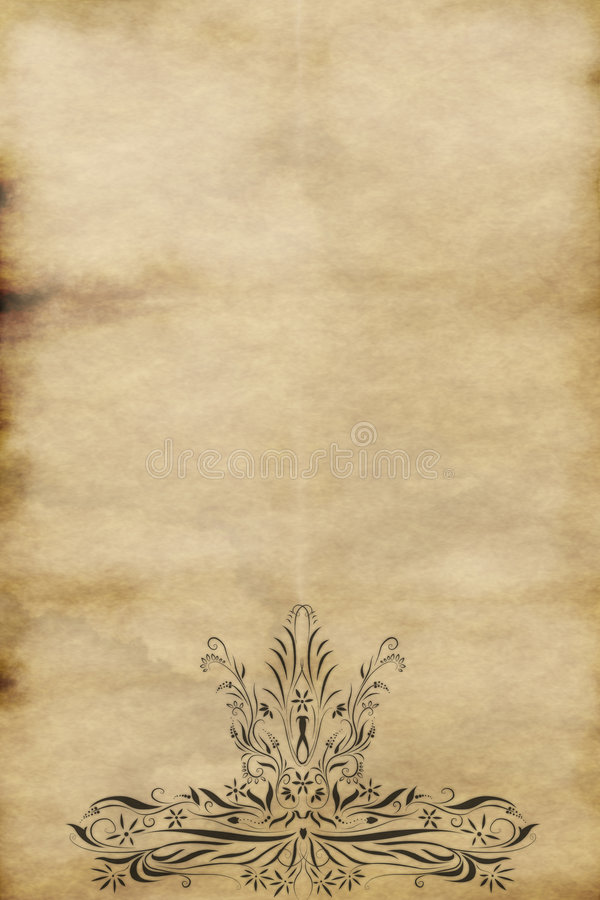 Free Old Regal Paper Parchment Royalty Free Stock Image - 3611426