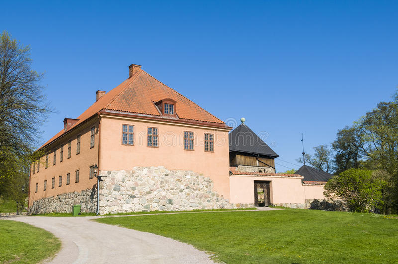 The old residence Nykoping castle stock photos