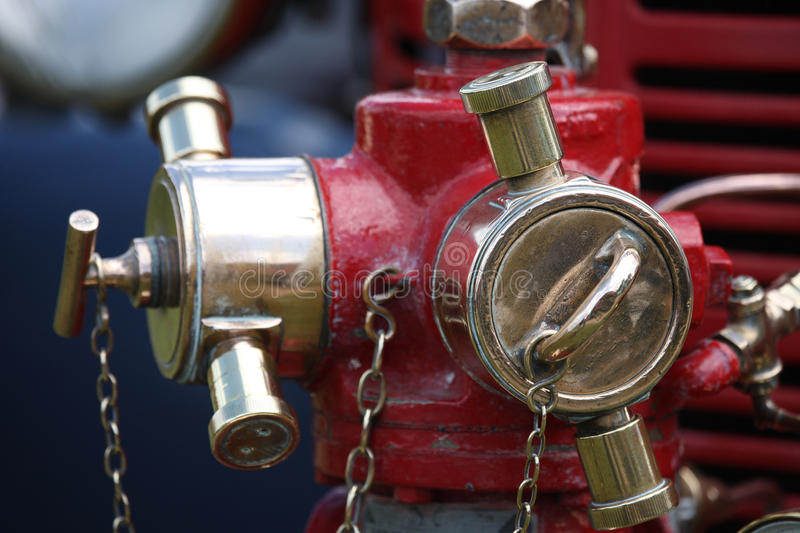Old restored fire hydrant royalty free stock images
