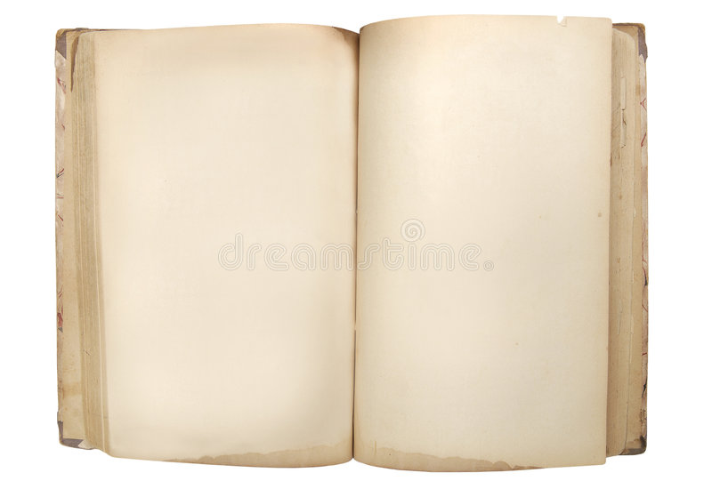 Old retro book royalty free stock photography