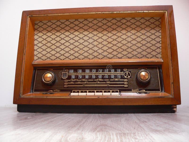 Old retro radio stock photos