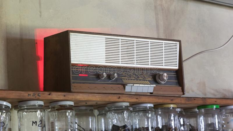 Old retro radio royalty free stock image
