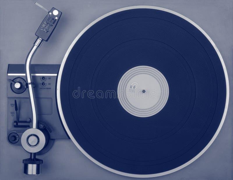 Old retro record player royalty free stock photos