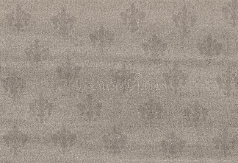 Download Old Retro Wallpaper In Sepia Stock Illustration