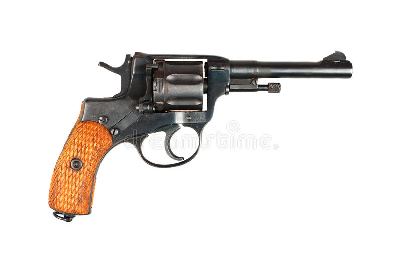 Download Old revolver stock image. Image of shoot, criminal, barrel - 11270309