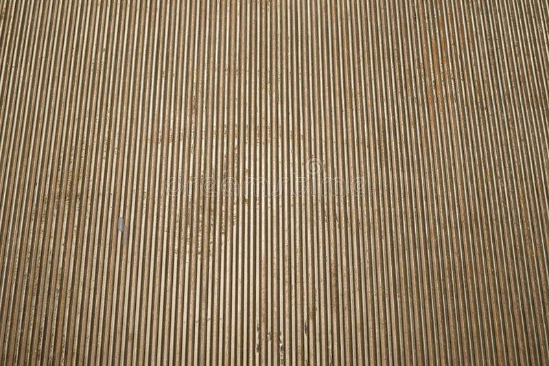 Old ribbed metal texture. corrugated steel backdrop. Old ribbed metal texture. corrugated steel background, industrial, lines, material, pattern, abstract royalty free stock photography