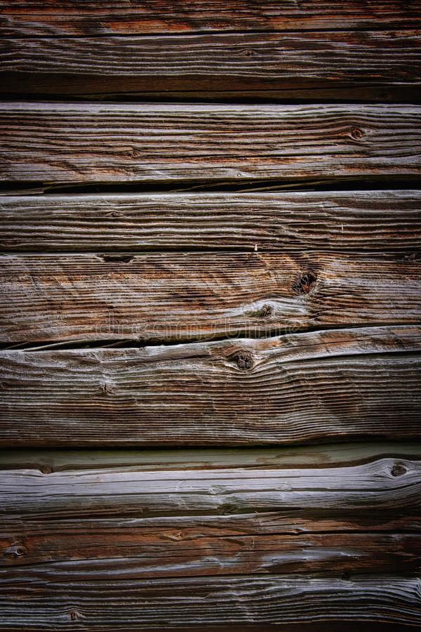 Old rich wood texture background with knots royalty free stock photography