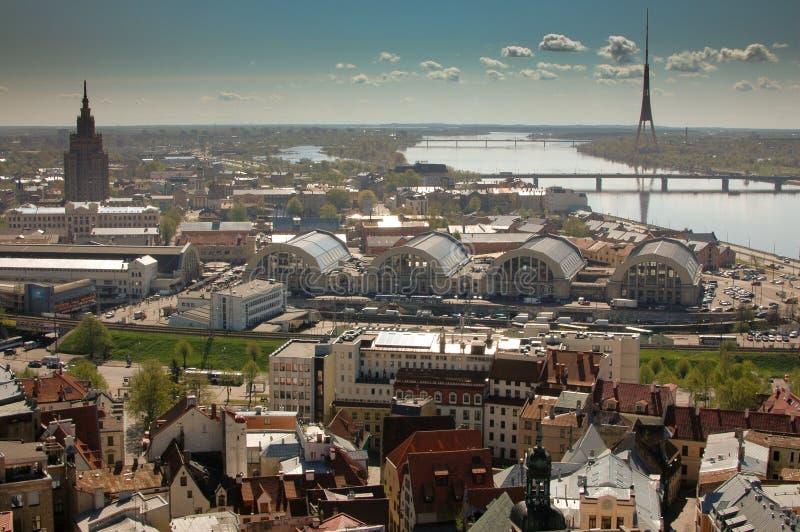 Old Riga royalty free stock image