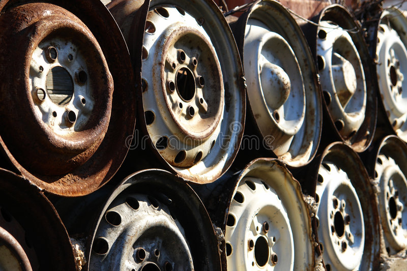 Download Old Rims stock image. Image of wheels, wheel, rust, transport - 4608835