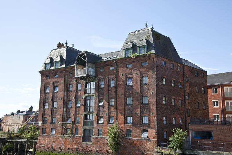 Old Riverside Building royalty free stock photography