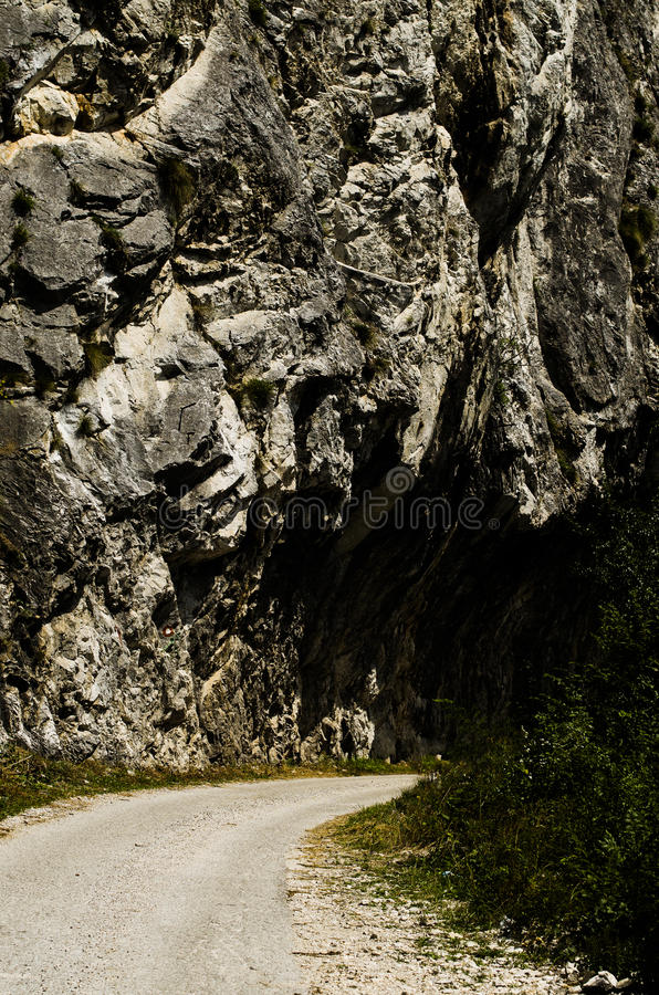 old road stock image