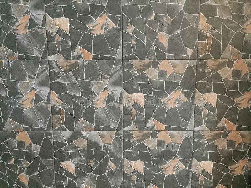 Old rock tile background texture,wallpaper backdrop. royalty free stock images