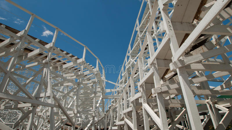 Download Old Rollercoaster stock photo. Image of roller, historic - 20535840