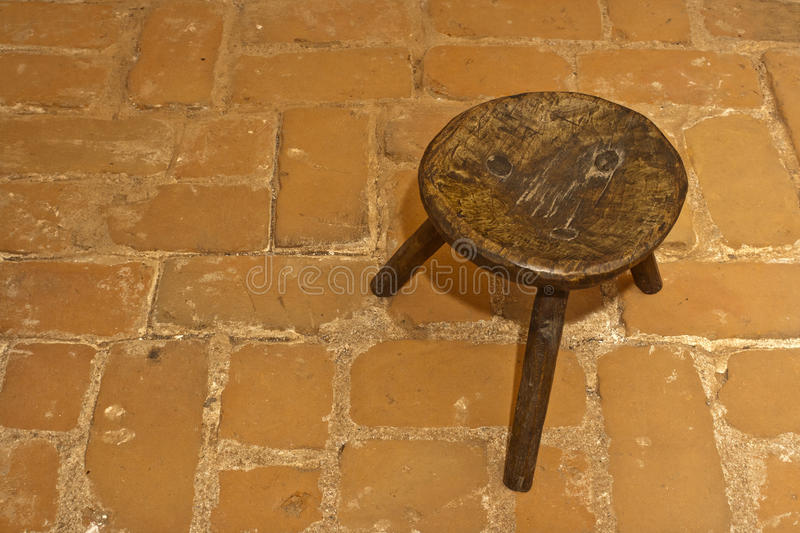 Download Old Romanian Traditional Wooden Stool Stock Photo - Image: 20737910