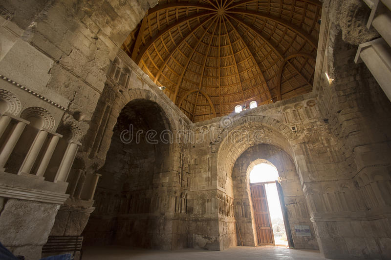 Old romans architecture royalty free stock images