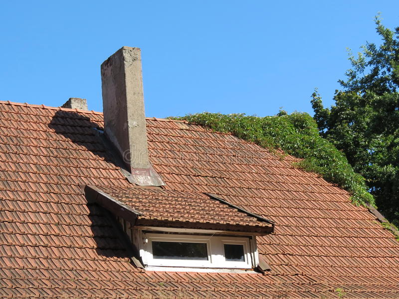 Download Old roof stock photo. Image of architecture, home, tile - 26515672