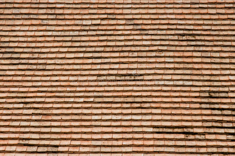 Old roof texture. And background royalty free stock image