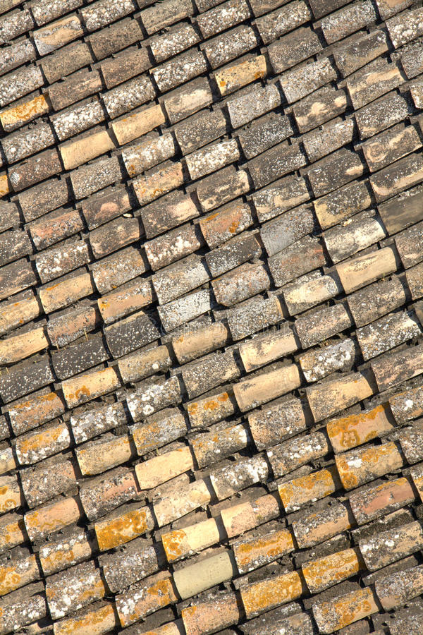 Download Old roof tiles stock photo. Image of dark, building, repeating - 19191584