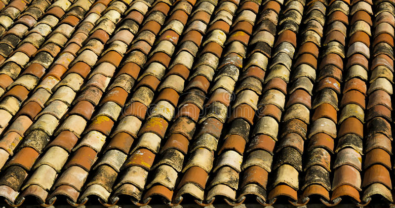 Download Old roof tiles stock image. Image of architecture, roof - 24019305