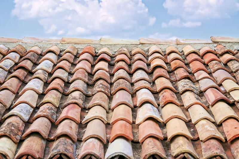 Download Old roof tiles stock photo. Image of house, italy, clay - 26294744