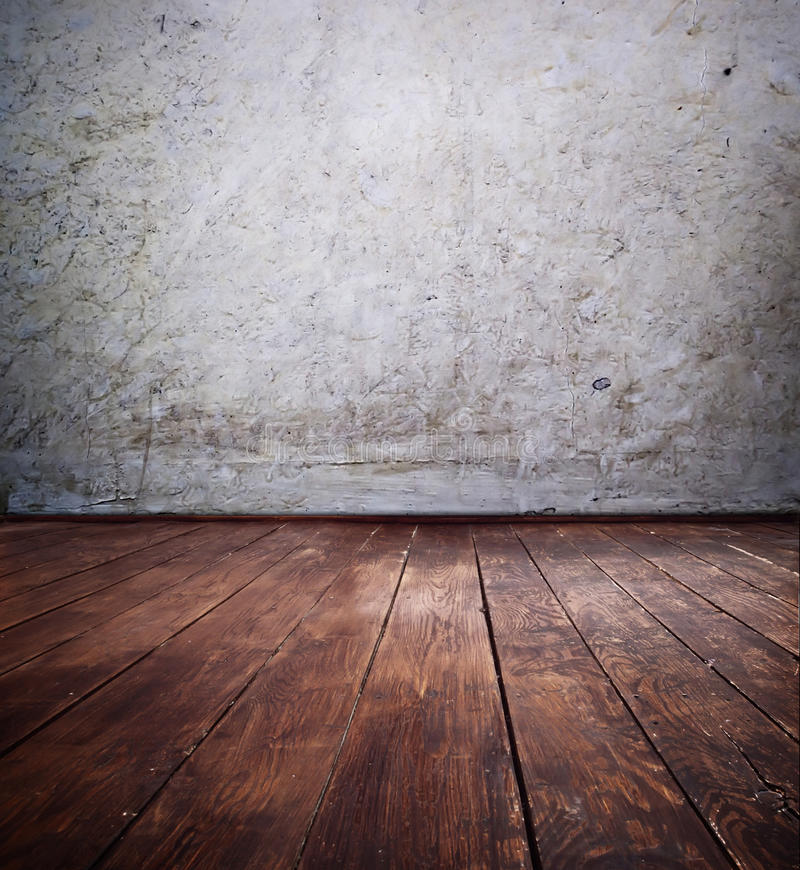 Old Room. Old blank room at background royalty free stock photo