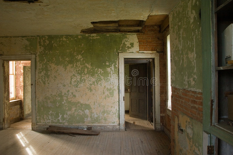 Old room stock image