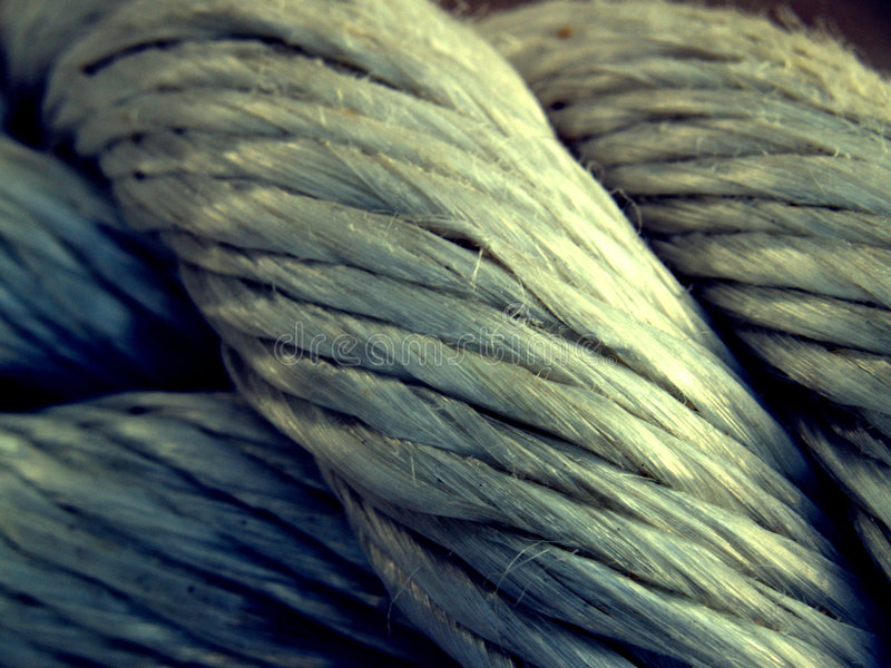 Old Rope 2 Stock Photo
