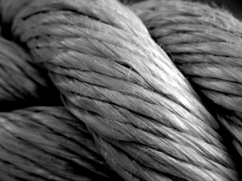 Download Old rope stock photo. Image of lace, black, circle, nautical - 2384898