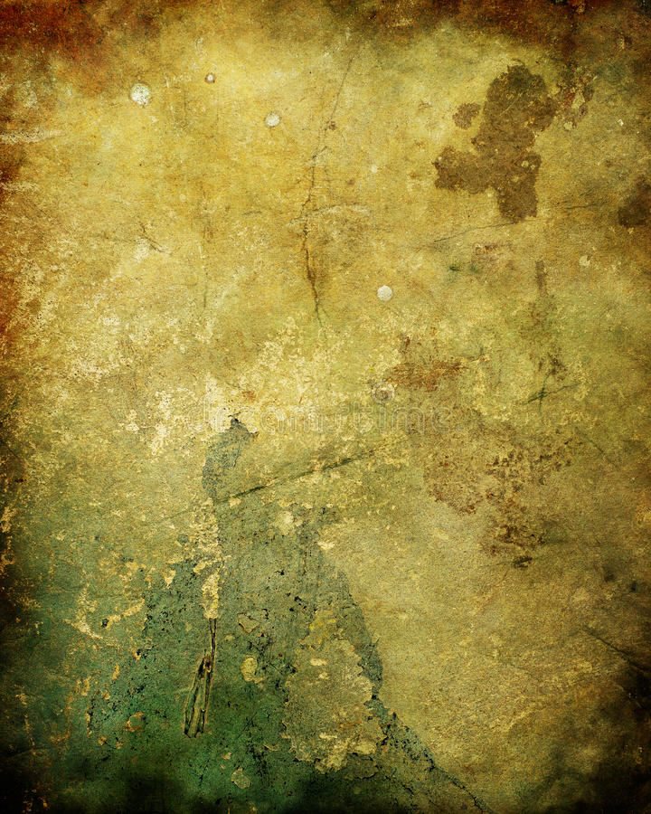 Old Rotten Plaster Wall Texture stock illustration