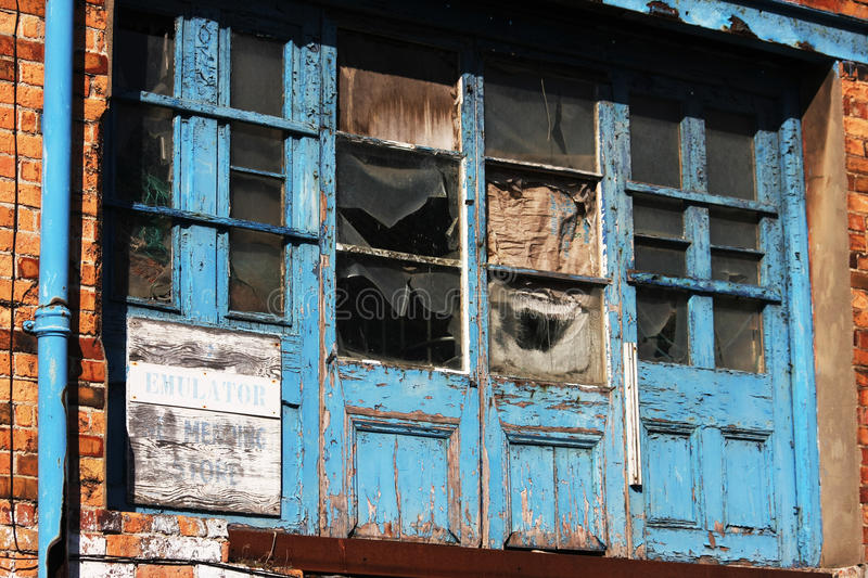 Download Old rotting wooden doors. stock photo. Image of security - 11660046