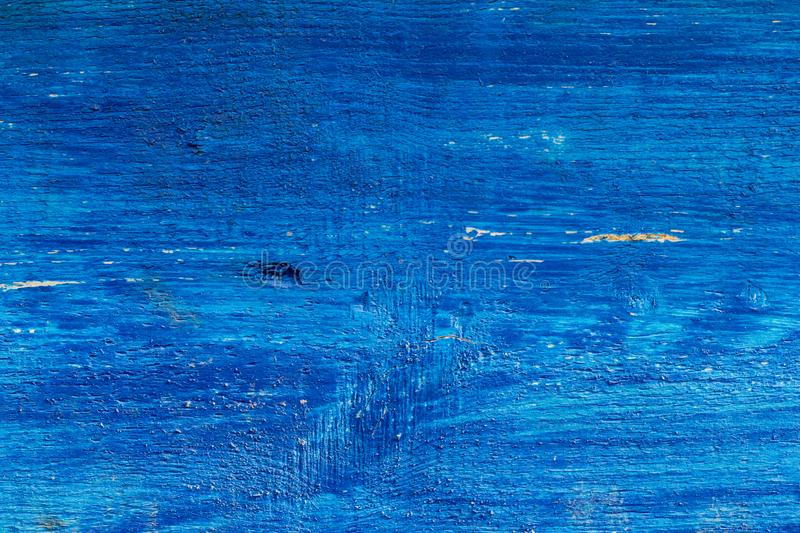 Old rough Board painted blue,wood texture royalty free stock images