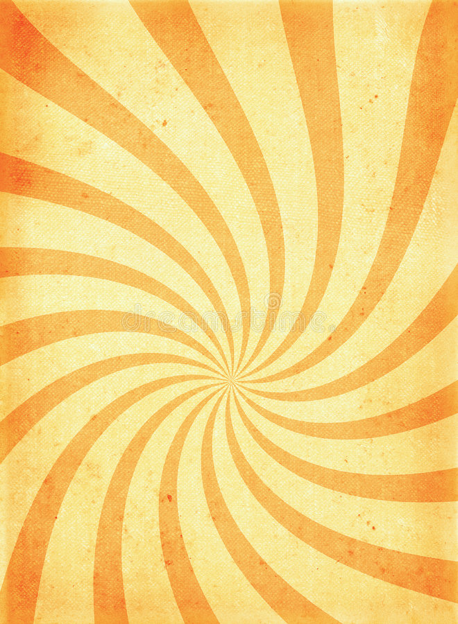 Download Old ROUGH Paper Page With Twirl Motive Stock Illustration - Image: 1703347