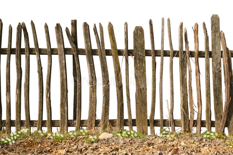 Wooden Fence Part - 19: Download Old And Rough Wooden Fence Stock Photo. Image Of Countryside -  15206888