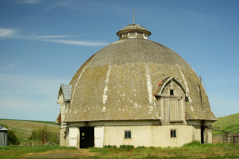 Old Round Barn royalty free stock photography