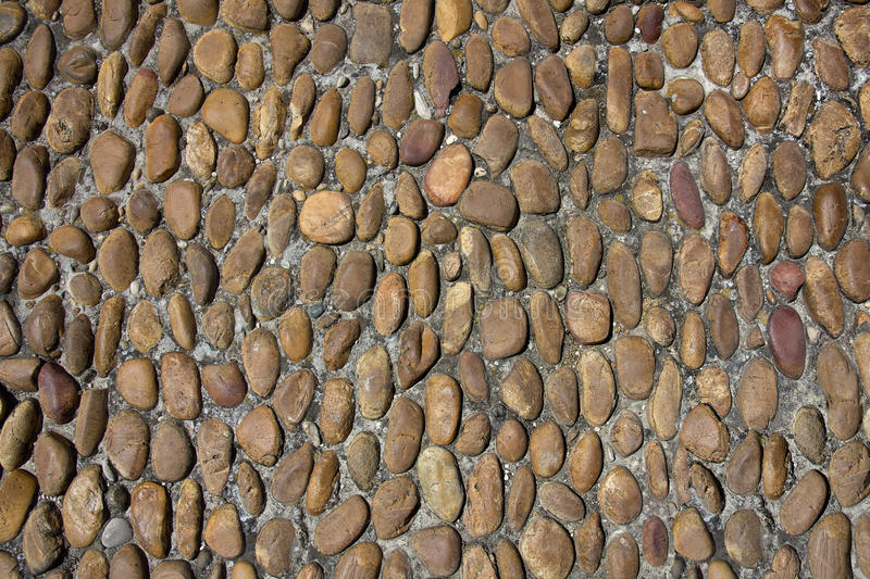 Old Rounded Cobbles Stock Image