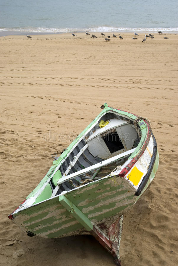 Free Old Rowboat Royalty Free Stock Photos - 17415678
