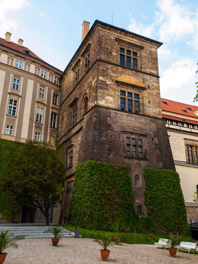 Free Old Royal Palace Of Prague Castle Royalty Free Stock Photos - 40232678