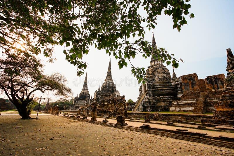 Old Ruin, Wat Phra Si Sanphet, Thailand, Sukhothai, Asia royalty free stock photos