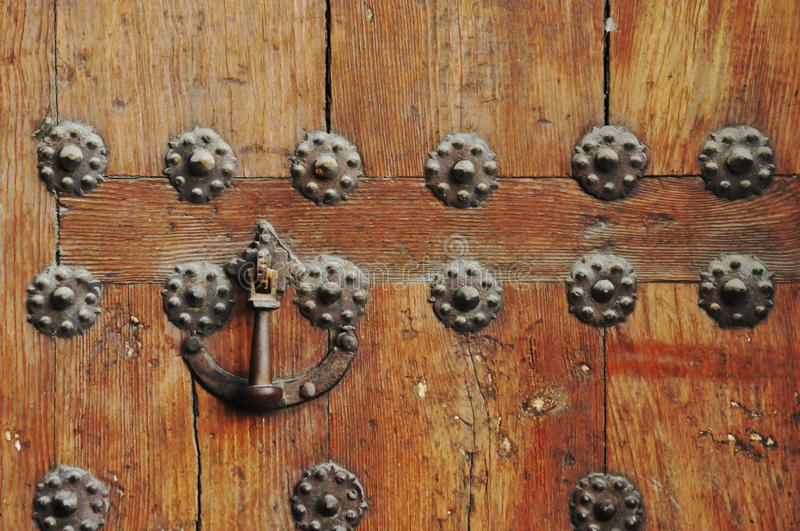 old and ruined door royalty free stock photos