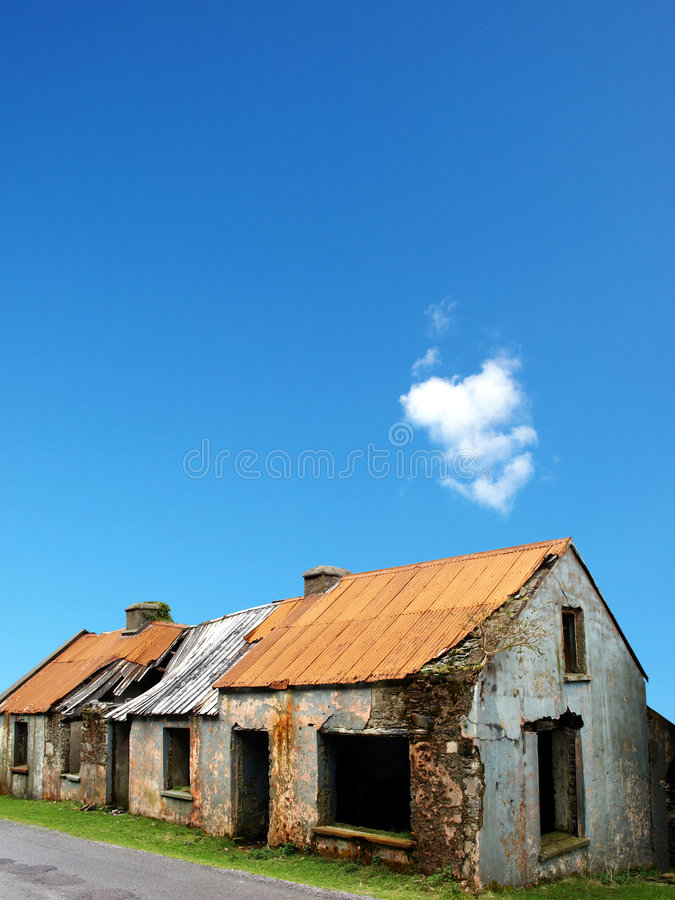 Download Old ruined house stock photo. Image of desolate, demolition - 7553458