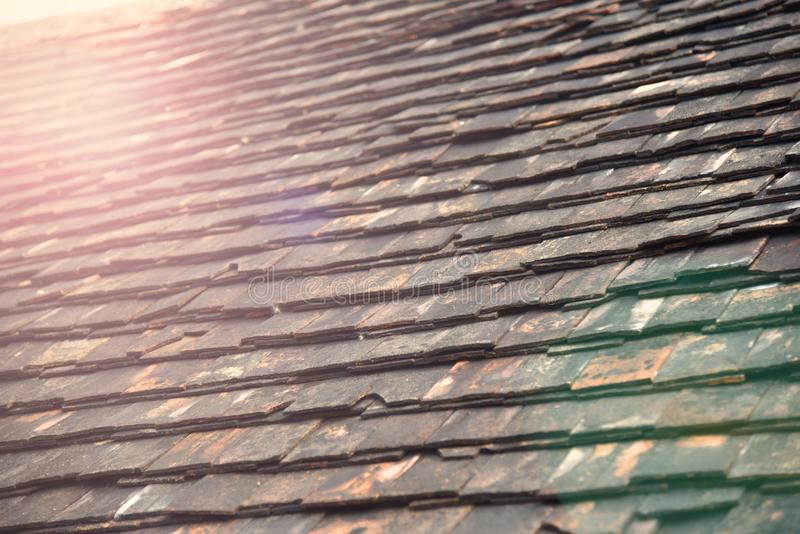 Old roof royalty free stock images