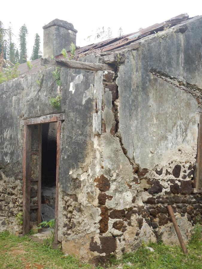 Old ruins building royalty free stock photo