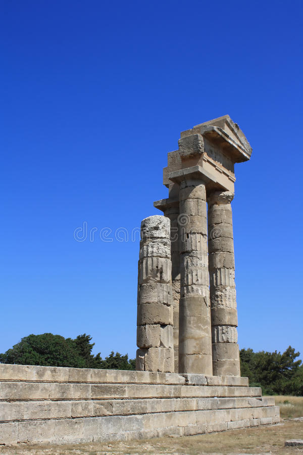 Free Old Ruins On Rhodos Greece Royalty Free Stock Photos - 17312958