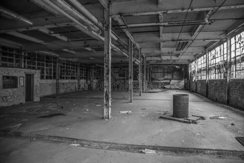 Abandon factory royalty free stock photography