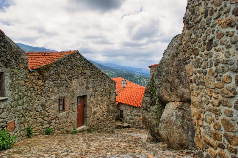 Old Rural Village Of Linhares Da Beira Royalty Free Stock Image