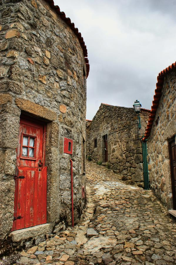 Download Old Rural Village Of Linhares Da Beira Stock Image - Image: 34306127