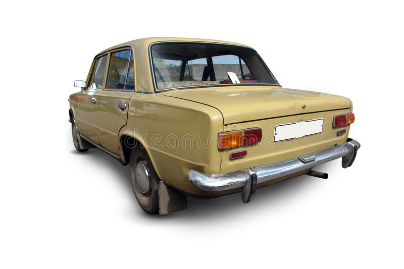Download Old Russian Car Royalty Free Stock Photos - Image: 4972168