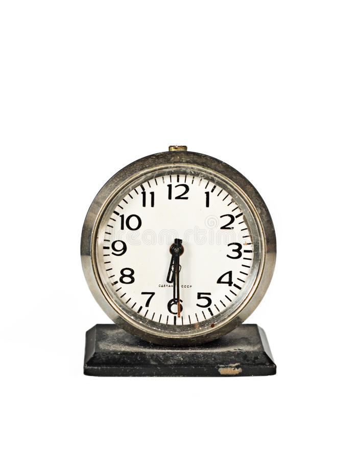 Old Russian Clock stock images