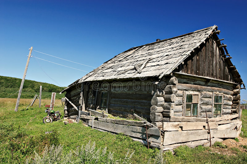 Download Old Russian House 2 Stock Photography - Image: 7319992
